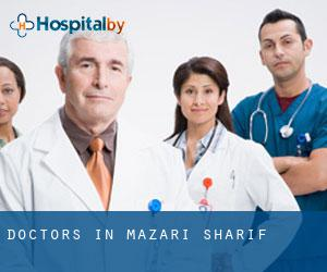 Doctors in Mazari Sharif