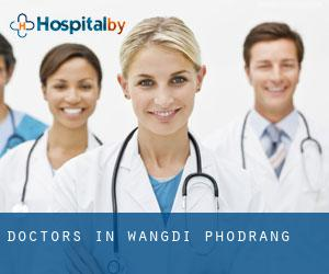 Doctors in Wangdi Phodrang