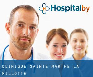 Clinique Sainte-Marthe (La Fillotte)