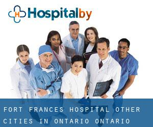 Fort Frances Hospital (Other Cities in Ontario, Ontario)