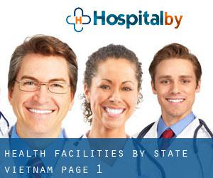 health facilities. by State (Vietnam) - page 1