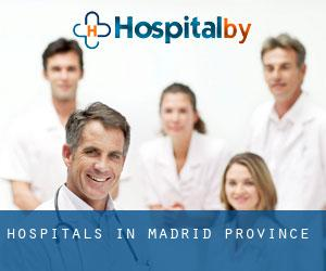hospitals in Madrid (Province)