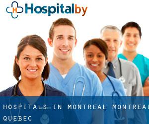 hospitals in Montreal (Montréal, Quebec)