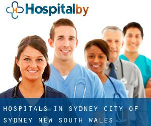 hospitals in Sydney (City of Sydney, New South Wales)