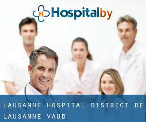 Lausanne hospital (District de Lausanne, Vaud)