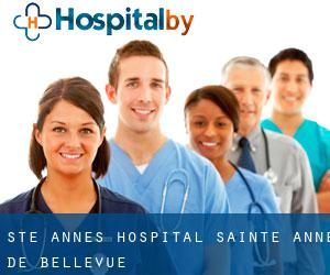 Ste. Anne's Hospital (Sainte-Anne-de-Bellevue)